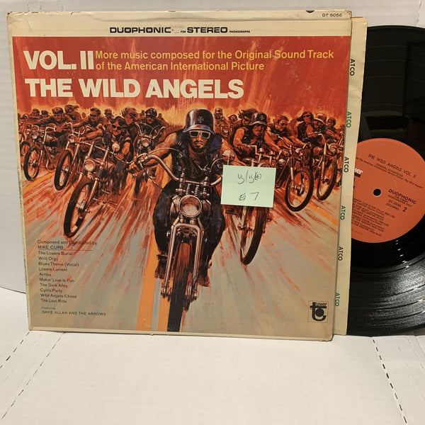 The Wild Angels Vol II Mike Curb- Tower DT 5056 VG/VG(+) Soundtrack Record
