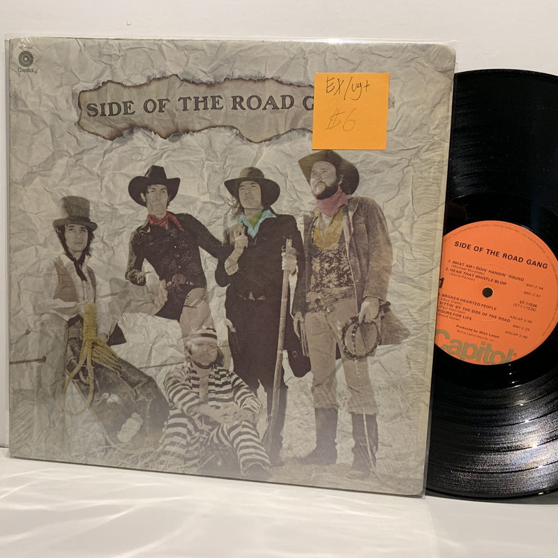 Side Of The Road Gang S/T- Capitol Country LP- EX/VG+