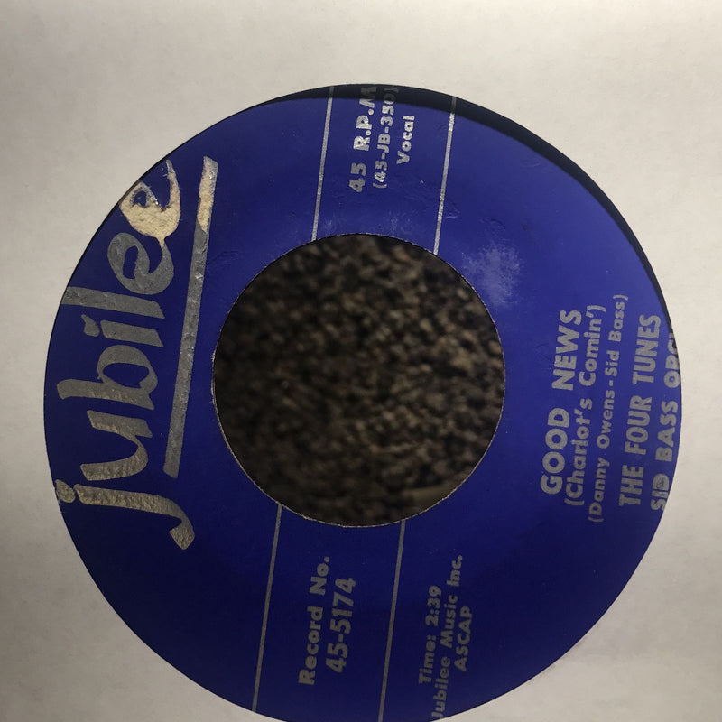 Four Tunes- I Sold My Heart To The Junkman/Good News- Jubilee 45-5174