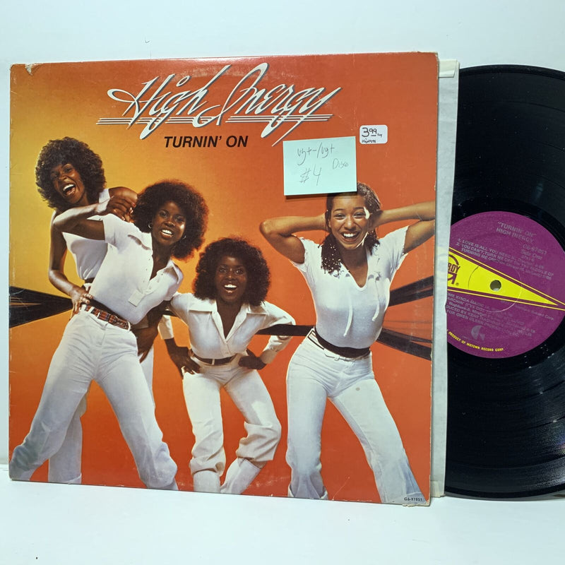 High Inergy Turnin On- Gordy 978 Disco Funk LP VG+-/VG+