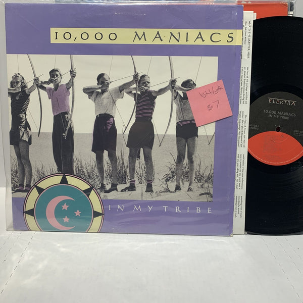 10,000 Maniacs In My Tribe- Elektra 60738 VG++/VG++ Synth Pop LP