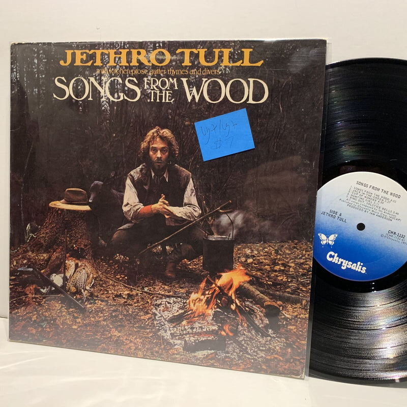 Jethro Tull- Songs From The Wood- Chrysalis Folk Rock LP- VG+/VG+