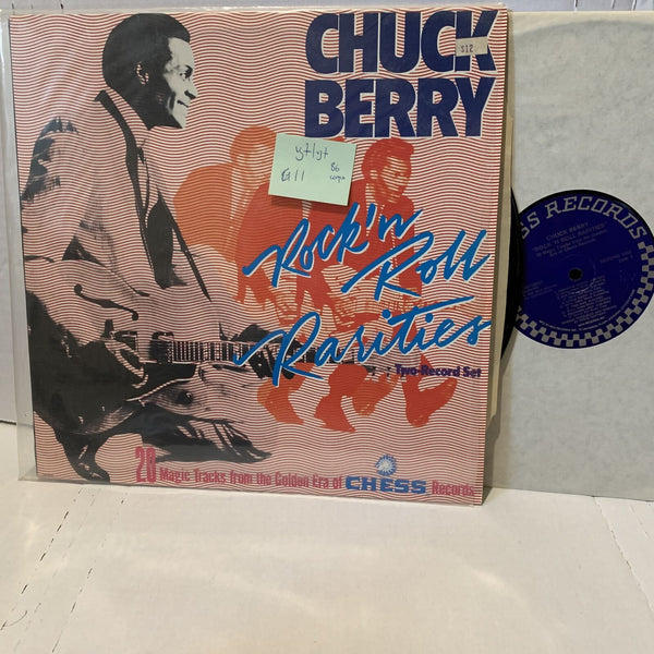 Chuck Berry Rock N Roll Rarities- Chess 92521 Early Rock VG+/VG+ '86 Record Lp
