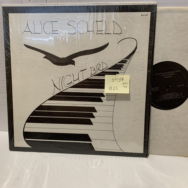 Alice Scheld Night Bird- Looking Glass 1137 VG+/VG+ Jazz Record LP Private Press