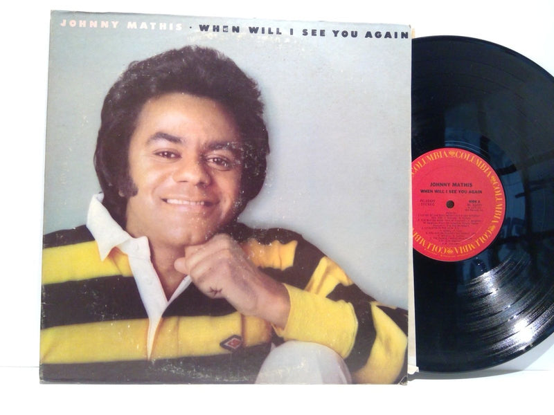 Johnny Mathis- When Will I See You Again- Columbia PC 33420- VG+/VG Soul