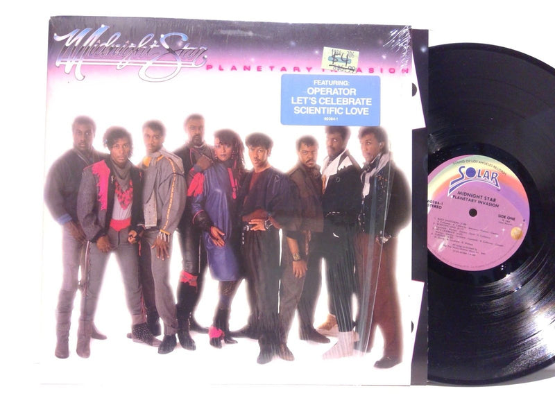 Midnight Star- Planetary Invasion- Solar 60384-1 AR- VG++/EX Disco Funk