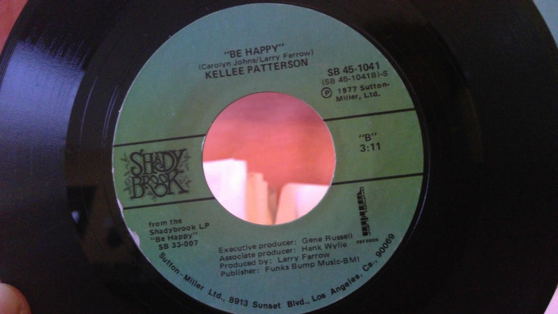 Kellee Patterson- If It Don't Fit, Don't Force It / Be Happy Shady Brook 45 1041