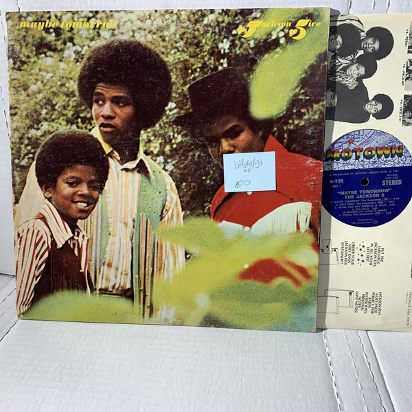 The Jackson 5 Maybe Tomorrow Motown S 725 VG+/VG(+) /VG+ Soul Record