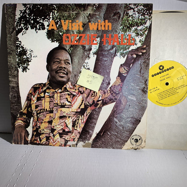 Ozzie Hall A Visit With- GBI 108 VG+/G+ World Calypso Record LP