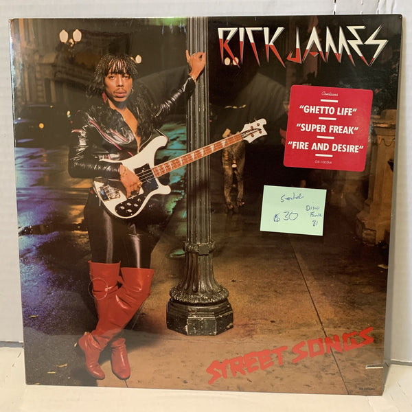 Rick James Street Songs Gordy G8 1002M1 SEALED Disco Funk Record LP 1981