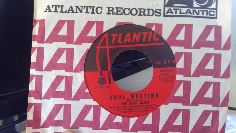 Soul Clan- Soul Meeting/That's How it Feels- Atlantic 2530- VG+