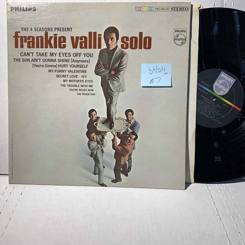 Frankie Valli Solo 4 Seasons- Philips PHS 600 247 VG+/VG+ WOC Rock Record