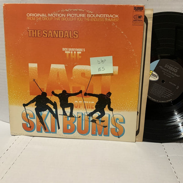 Last Of The Ski Bums- The Sandals- World Pacific 21884 VG/VG+ Soundtrack