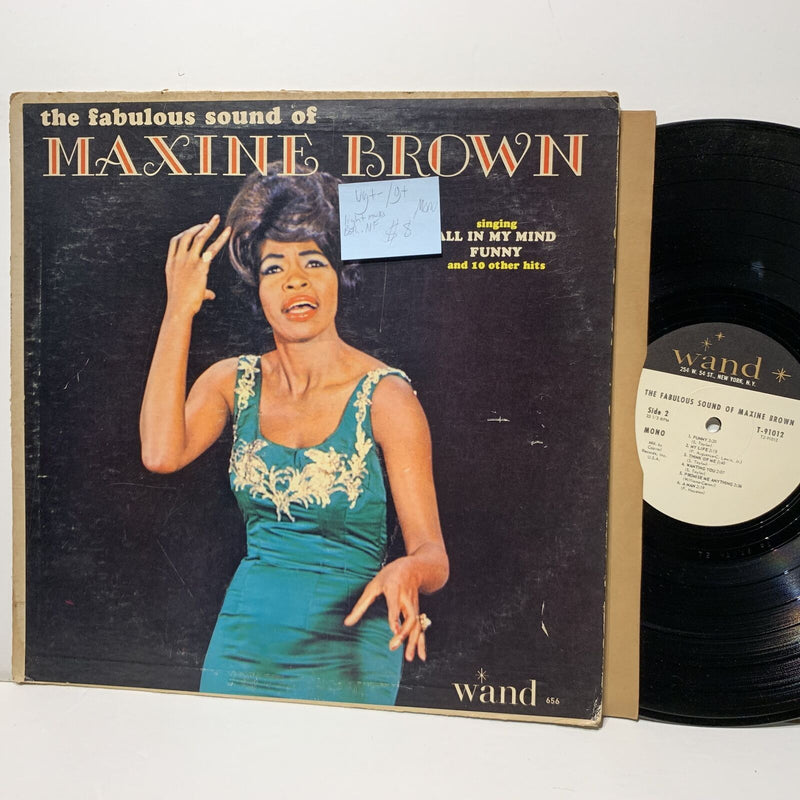 Maxine Brown Fabulous Sound Of- Wand 656 VG+-/G+ Mono Light marks