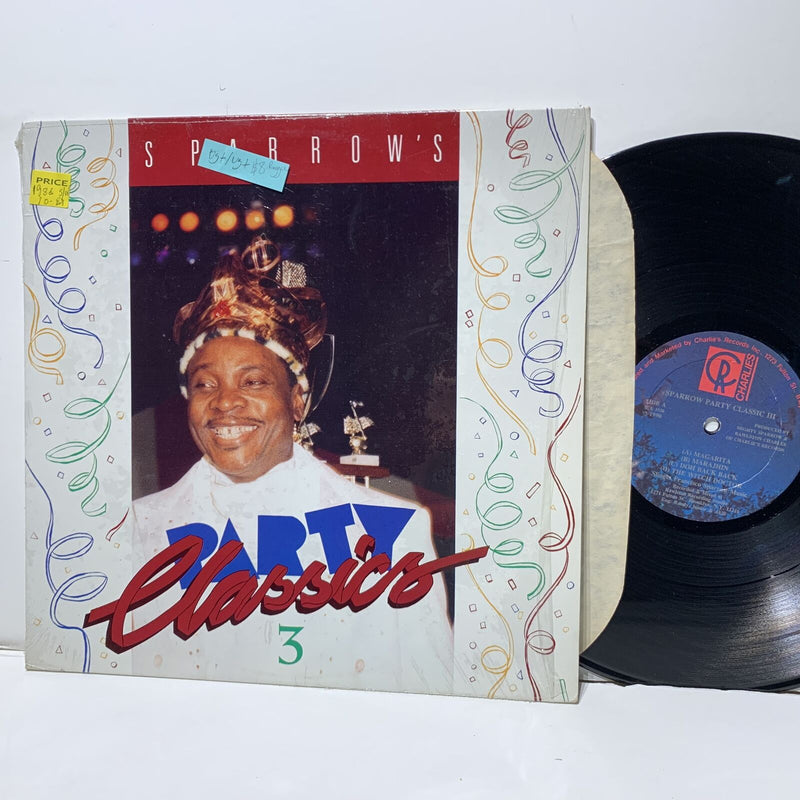 Sparrow's Party Classics 3- Charles 3820 VG+/VG+ Reggae Comp