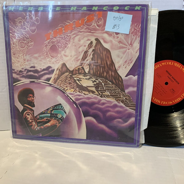 Herbie Hancock Thrust- Columbia PC 32965 VG+/VG+ Jazz Funk Vinyl Record LP