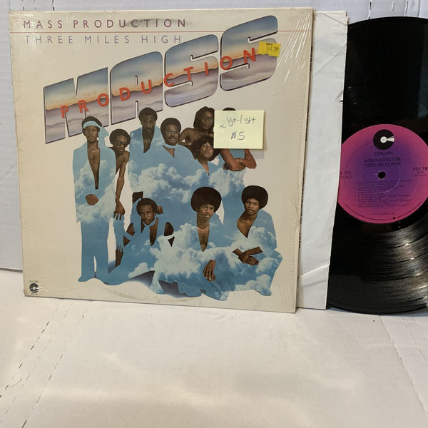 Mass Production Three Miles High- Cotillion SD 5205 RI VG+-/VG++ HL Funk LP