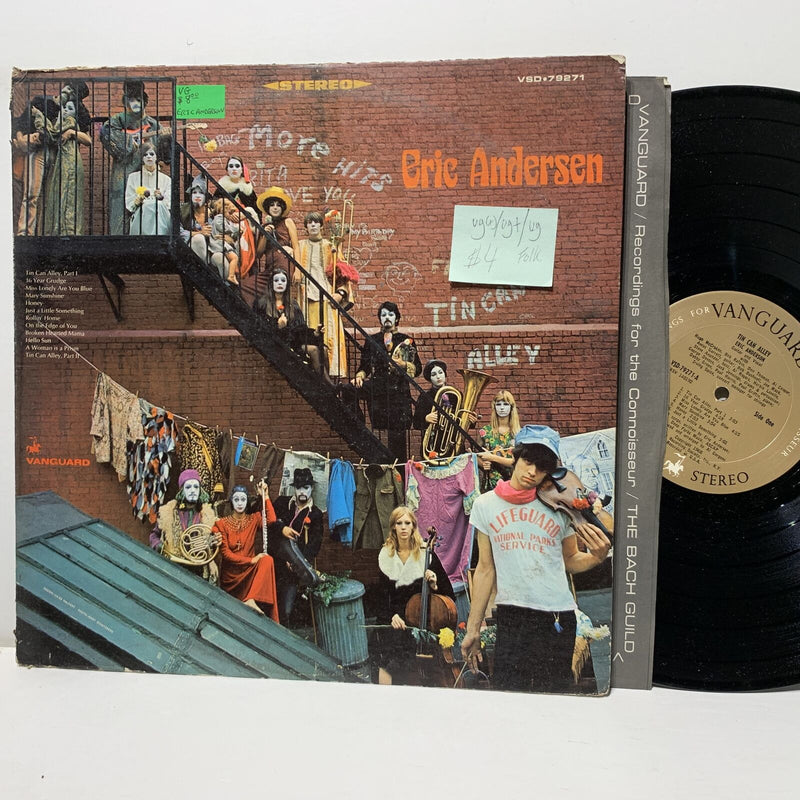 Eric Anderson Tin Can Alley Vanguard 79271 VG(+)/VG+ /VG Folk LP