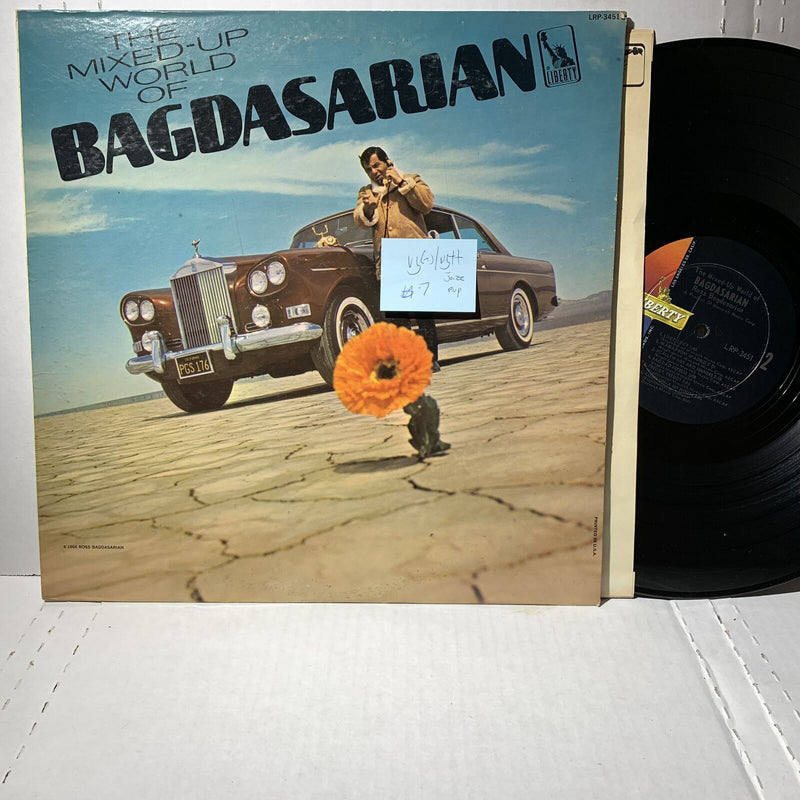 Ross Bagdasarian Mixed Up World Of- Liberty LRP 3451 VG(+)/VG++ Jazz Pop