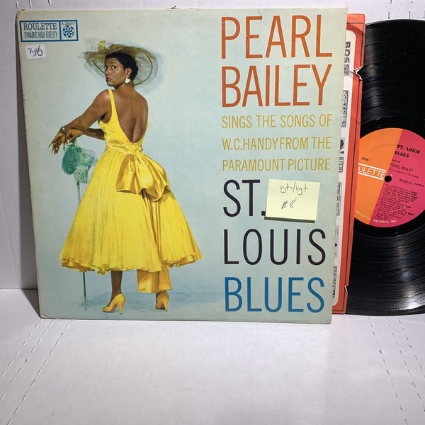 Pearl Bailey St Louis Blues- Roulette R 25037 Mono VG+-/VG+ Jazz Blues LP
