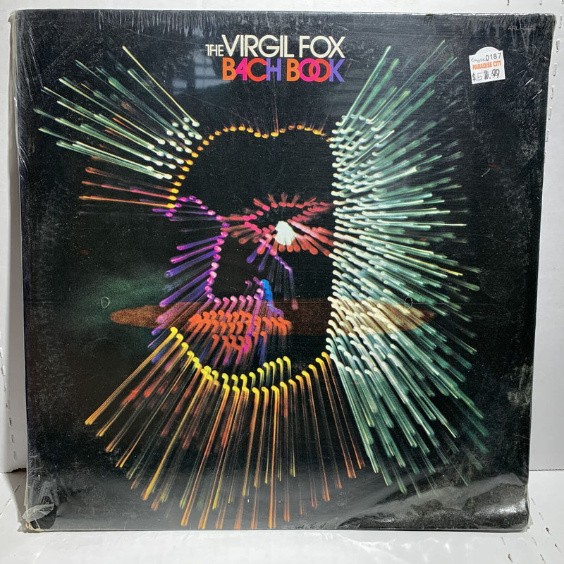 The Virgil Fox Bach Box Classical LP Sealed! VG sleeve with wear in corner