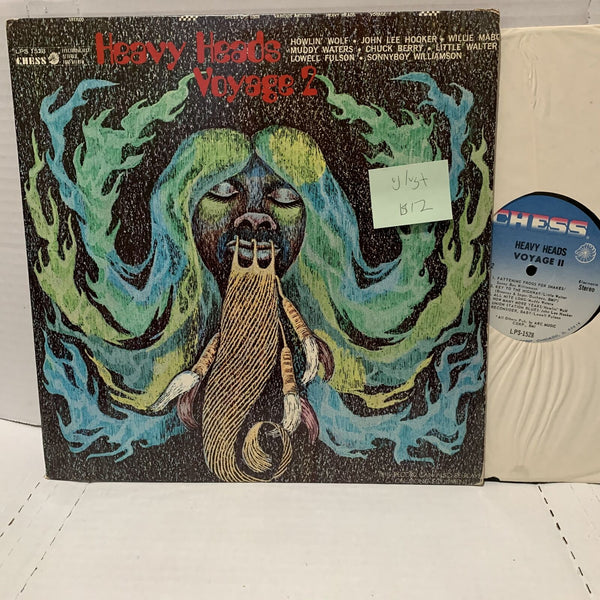 Heavy heads Voyage 2- Chess LPS 1528 VG/VG+ Blues Comp Howlin Record LP