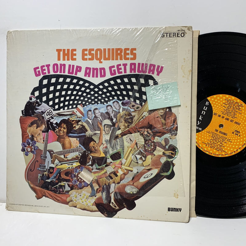 The Esquires Get On Up And Get Away- Bunky 300 Soul LP VG+/VG+