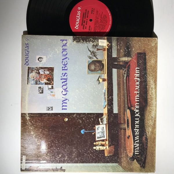 Mahavishnu John McLaughlin- My Goals Beyond- Douglas 9- 30766 VG+/VG