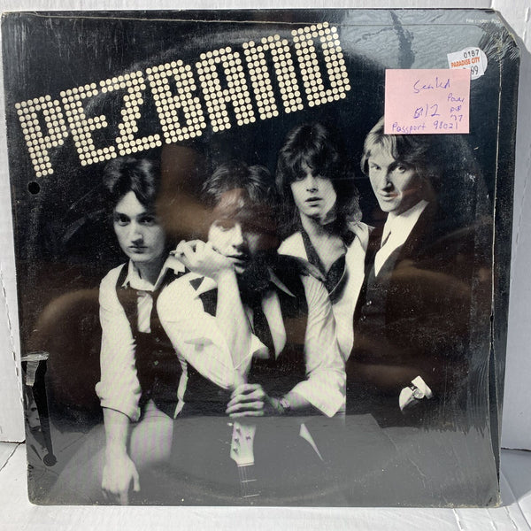 Pezband Self Titled Passport Records 98021 SEALED Power Pop Vinyl Record LP