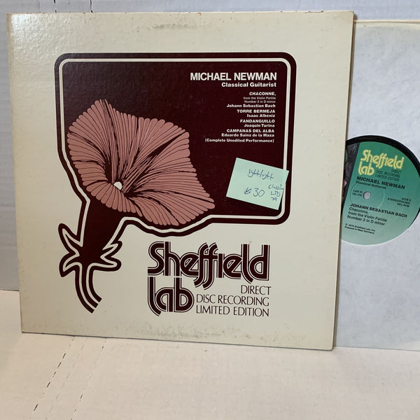 Michael Newman Sheffield Lab 10 Audiophile Ltd Classical Guitar VG++ Record