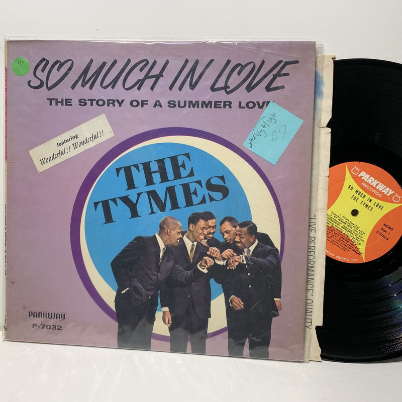 The Tymes So Much IN Love- Parkway 7032 Doo Wop LP VG+/VG+-