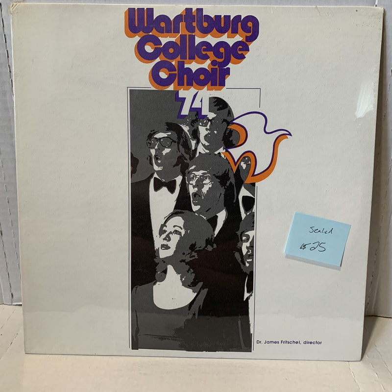 Wartburg College Choir 1974 James Fritschel Private Press Xian SEALED Record