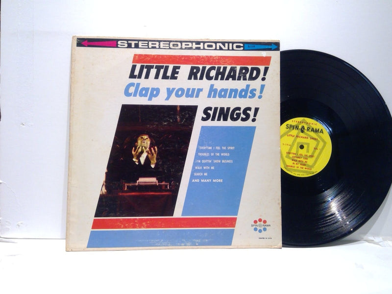 Little Richard Sings- Clap Your Hands!- Spin O Rama 119- VG(+)/VG(+) Early Rock