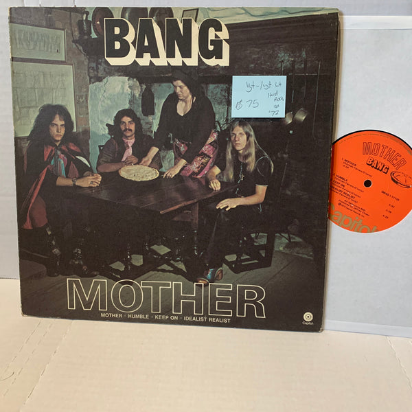 Bang Mother- Capitol SMAS 11110 VG+-/VG+ LA 1st Press Hard Rock Record LP