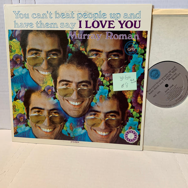 Murray Roman You Cant Beat People Up And Say I Love You- 101 Comedy LP VG+