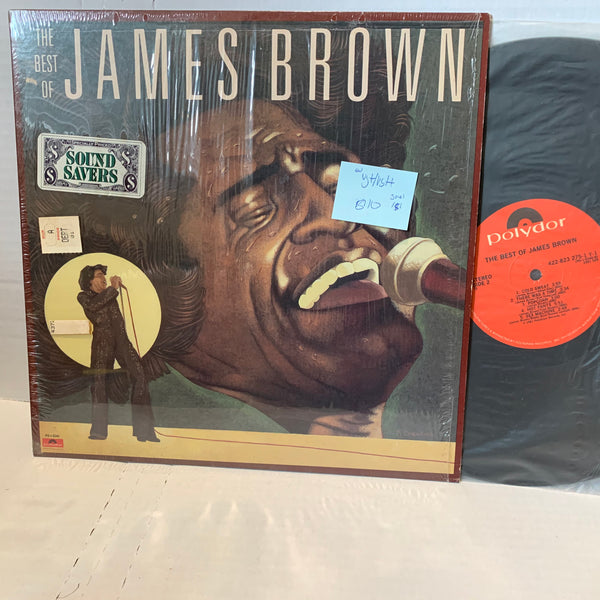 James Brown The Best Of- Polydor 72 VG+/VG++ SW Soul Funk Vinyl Record LP