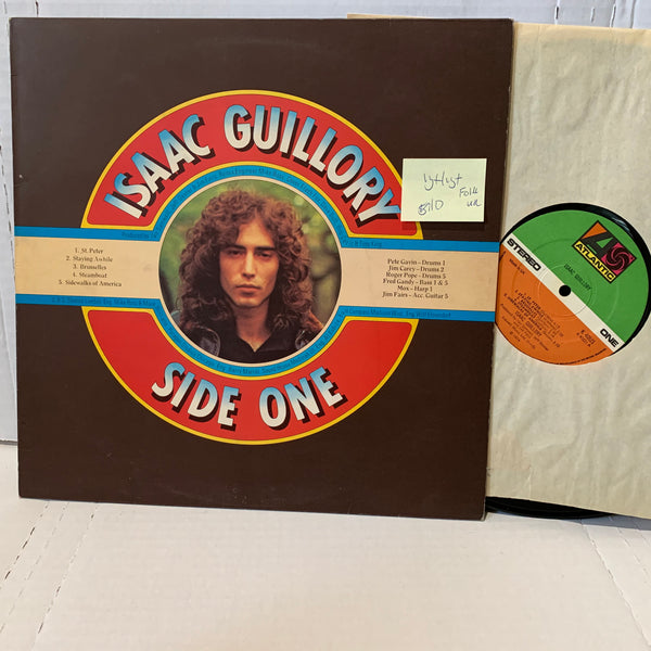 Isaac Guillory Side One- Atlantic K 40521 VG+/VG+ Folk Rock UK Press Record Lp