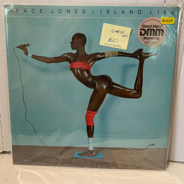 Grace Jones Island Life- Direct Metal Mastering DMM SEALED Record LP RARE