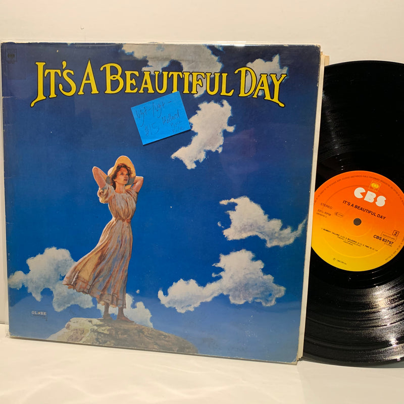 It's A Beautiful Day S/T- CBS Psych Folk Holland Press LP- VG+-/VG+-