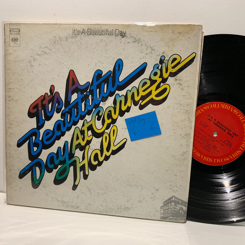 it's a Beautiful Day At Carnegie Hall- Columbia Psych Folk LP- VG+/VG
