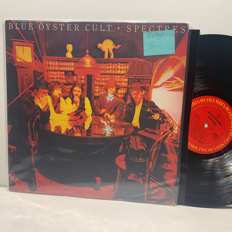 Blue Oyster Cult- Spectres- Columbia Psych Rock LP- EX/VG+