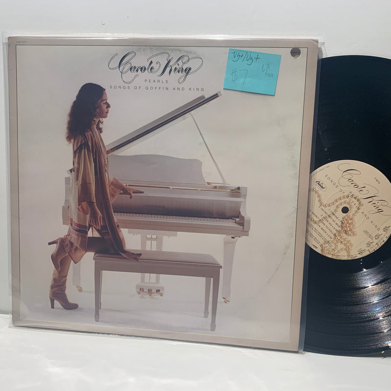 Carole King- Peals Songs Of Goffin & King- Capitol Pop Rock LP- VG+/VG+ LA Press