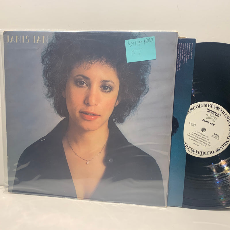 Janis Ian S/T- The Rainbow Collection Columbia Rock Promo LP- VG+/VG+