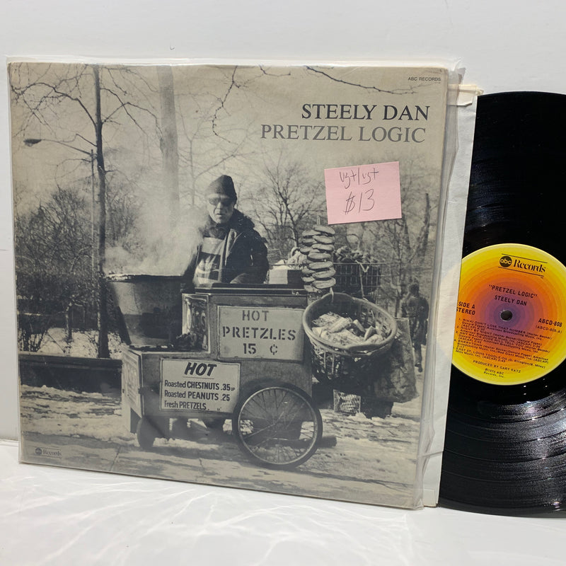 Steely Dan- Pretzel Logic- ABC Records Rock LP- VG+/VG+
