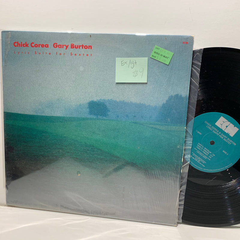 Chick Corea Gary Burton- Lyric Suite For Sextet- ECM Jazz LP- EX/VG+
