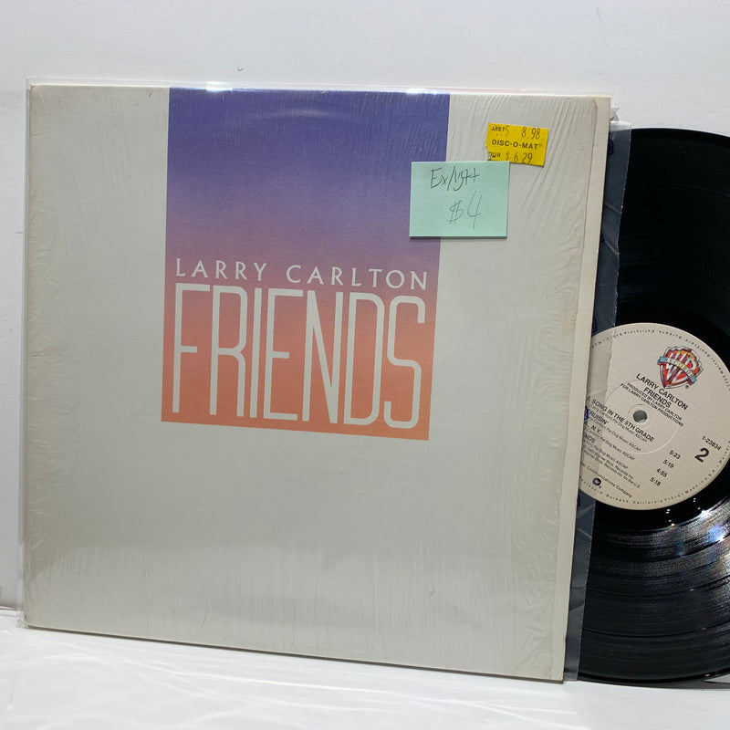 Larry Carlton- Friends- Warner Bros Jazz Rock Fusion LP- EX/VG++