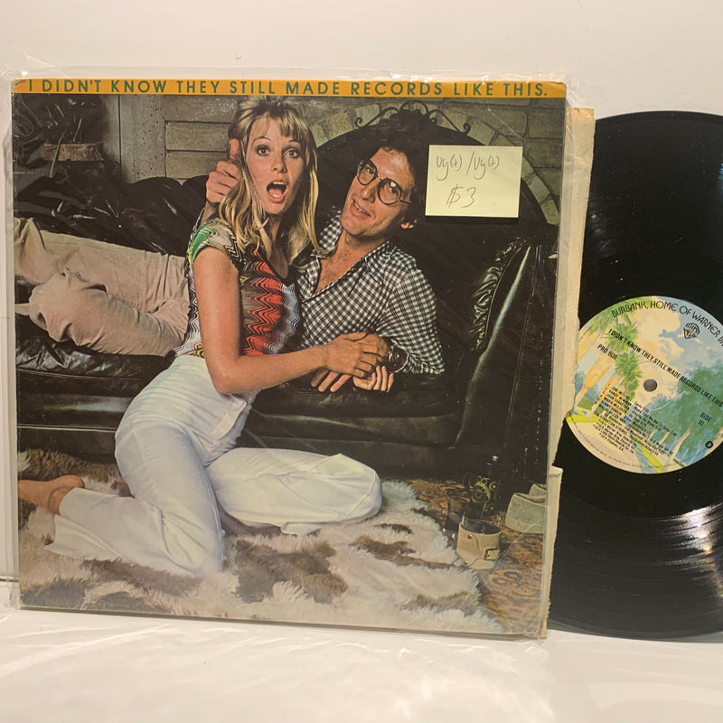 I Didn't kNow They Still Made Records Like This- Warner Bros- Pop Rock LP Comp