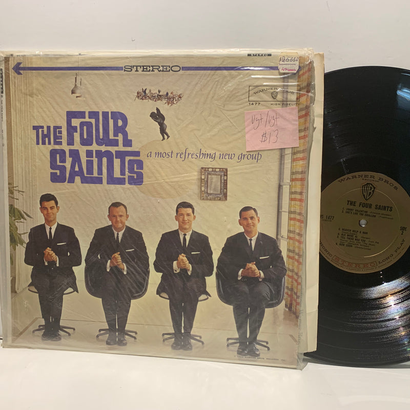 The Four Saints- A Most Refreshing New Group- Warner Bros Pop LP- VG+/VG+