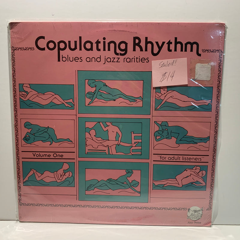Copulating Rhythm- Blues And Jazz Rarities- Jass Three- Sealed! LP Comp