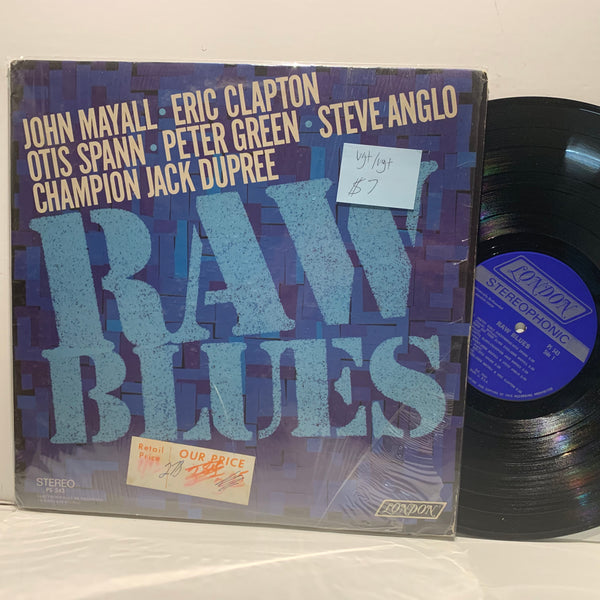 John Mayall Eric Clapton Oris Spann- Raw Blues- London Blues Comp- VG+/VG+